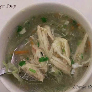 Clear Chicken Soup.