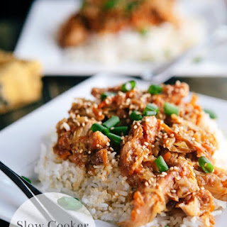 Slow Cooker Moo Shu Pork Recipe