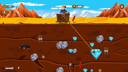 Diamond Miner - Fun Diamond Rush Game cheat screenshots 2