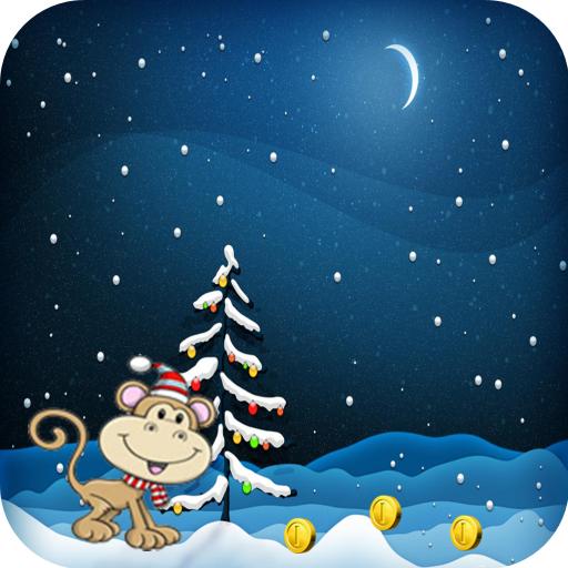Monkey Christmas Running Games