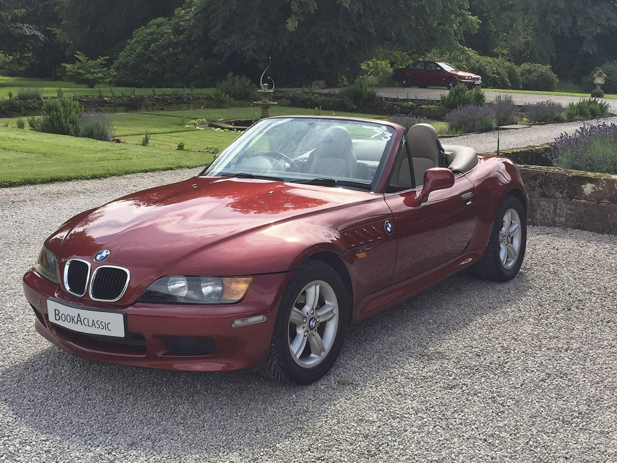 BMW Z3 Hire Northumberland