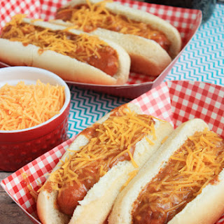 Crockpot Chili Dogs.