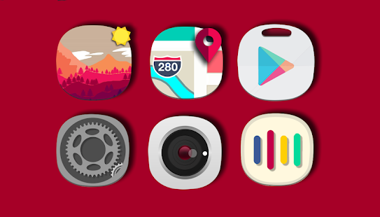 Theme Iphone XS icon pack Concept Screenshot