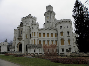 Photo: Hluboka castle
