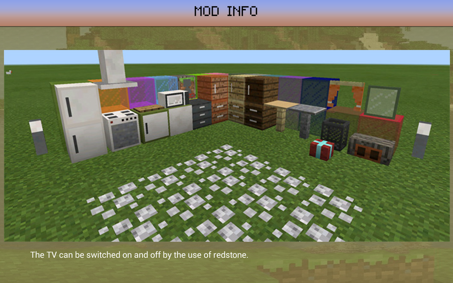 Decoration Furniture Mod Mcpe Android Apps On Google Play