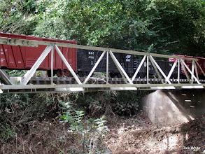 Photo: Train behind ATSF 2099