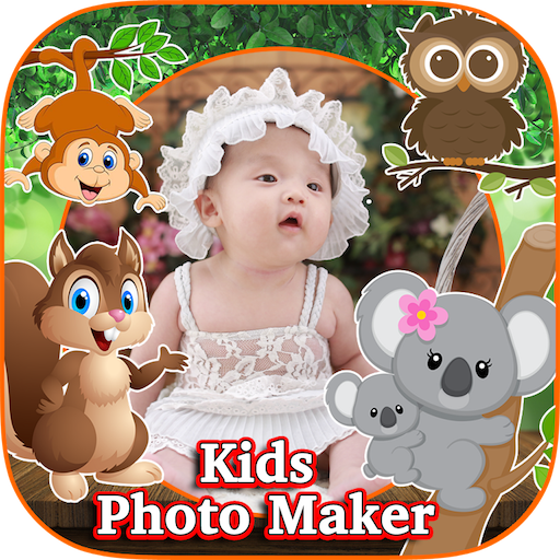 Kids Photo Editor : Cool Photo Frames & Stickers