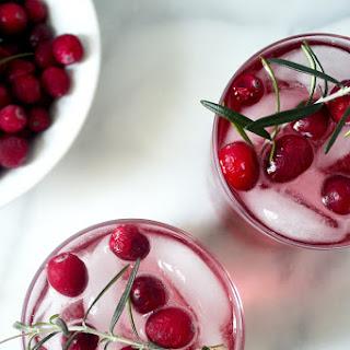 Cranberry Gin Fizz.