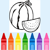 Coloring Fruits