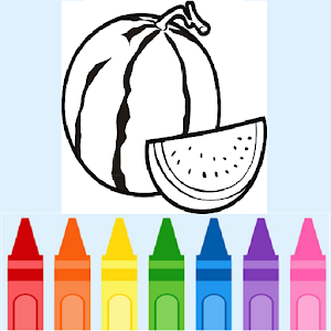 Coloring Fruits for PC and MAC
