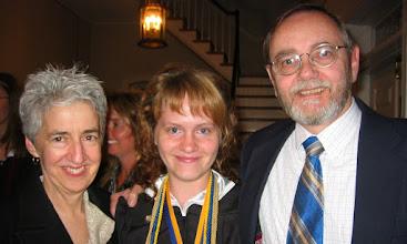 Photo: Phoebe's Graduation at Hood College, May 18, 2007
