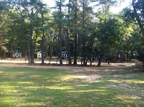 Photo: Juniors cabin circle.