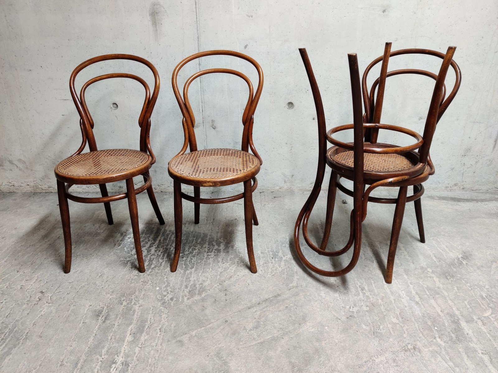 durable vintage dining chairs