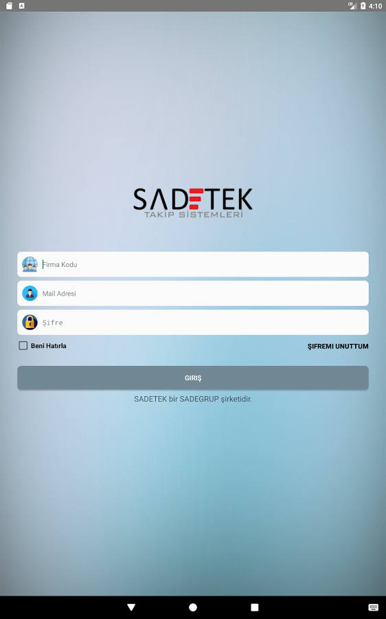 SADETEK PORTAL- screenshot