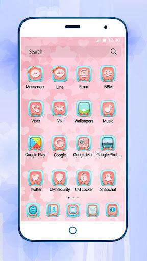 Girly Lovely - Meizu Theme 1.1.6 screenshots 2