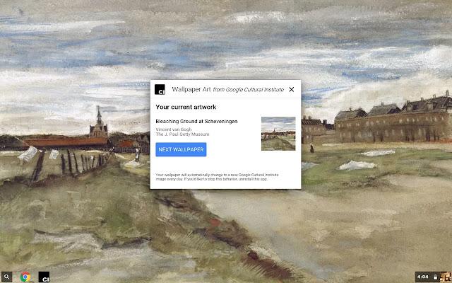 Google Wallpaper Art Screenshot