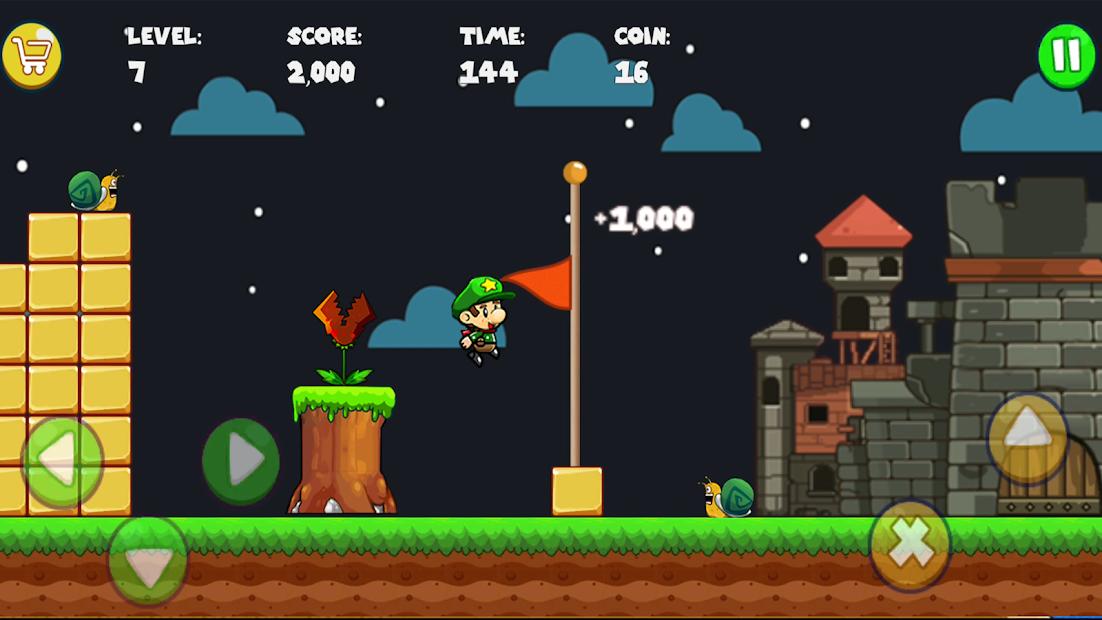 Bob's World - Super Adventure Android App Screenshot