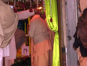 Photo: The new issue of The Rays of The Harmonist offered @ Srila BV Vamana Goswami Maharaja's samadhi