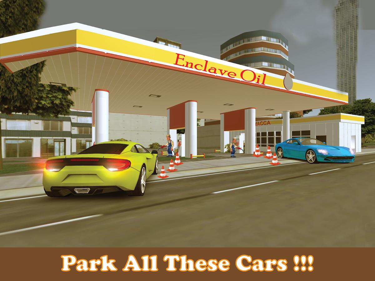 Sports Car Parking Games