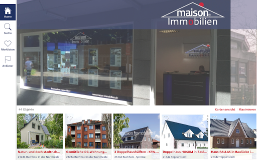 maison Immobilien app (apk) free download for Android/PC/Windows screenshot