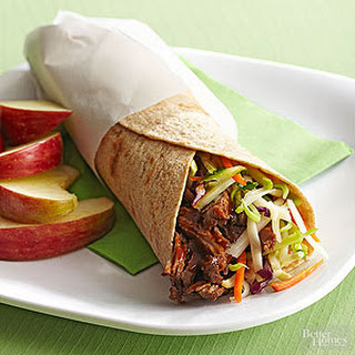Barbecue Beef Wrap Recipe