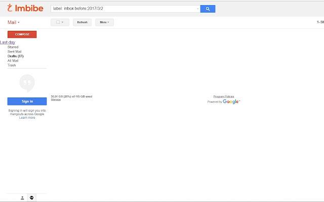 Gmail Inbox Pauser