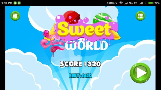 Sweet Jelly World - náhled