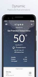 Download Clyma Weather: Simple, Multi-source and Accurate For PC Windows and Mac apk screenshot 3