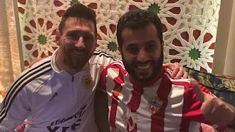 Lionel Messi y Turki Al-Sheikh se reunieron en Arabia Saudí.