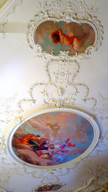 More ceiling decorations. Like who will keep staring up ...