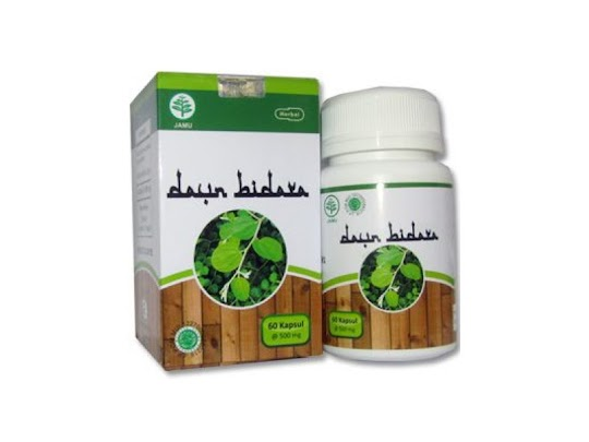 HIU Daun Bidara kapsul herbal ekstrak serbuk AL RUQYAH stress demam menenangkan pikiran insomnia