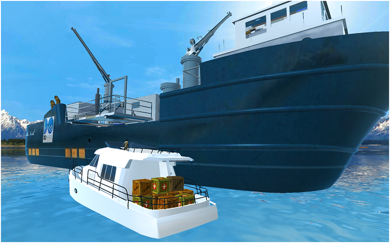 Cargo Ship Simulator Free- screenshot
