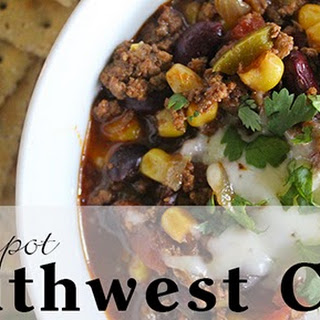 Crockpot Southwest Chili