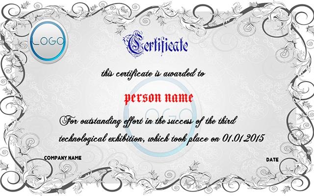 certificate Maker Free Chrome Web Store – Certificate Template Maker