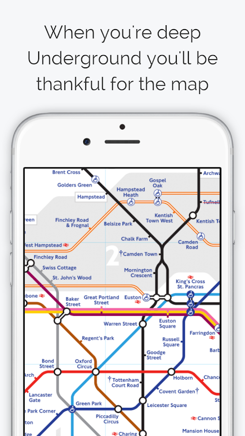 London Tube Map- screenshot