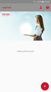 Ricoh myPrint- screenshot thumbnail