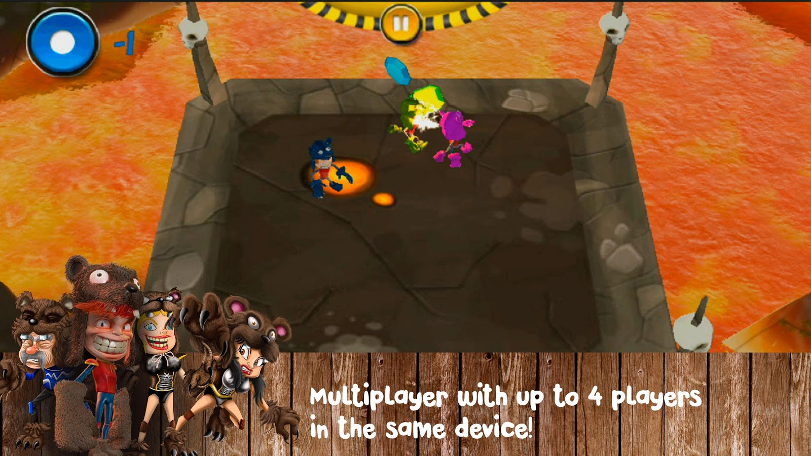 Manotas: Sumo creatures arena- screenshot