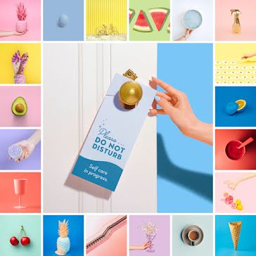 Colorful Collage - Instagram Carousel Ad template