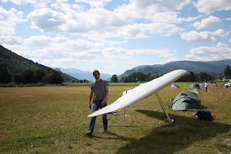 Photo: Вон там справа виднеется наша коричневая палаточка :-)