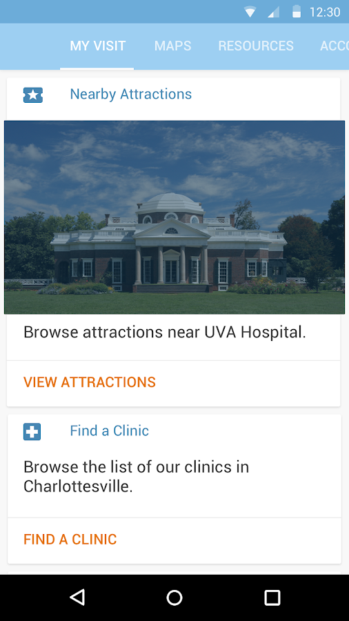 UVA Health- screenshot