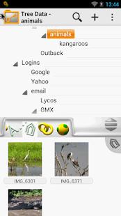 Tree Data - náhled