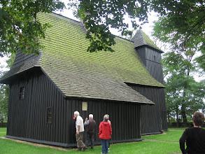 Photo: Kościół w Grębieniu - styl wieluński