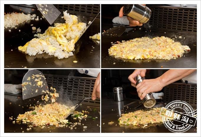 家蒂諾鐵板燒溫莎花園培根炒飯