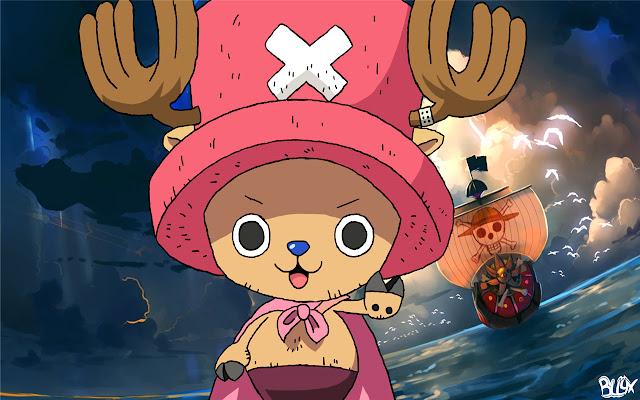 Chopper One Piece Themes & New Tab