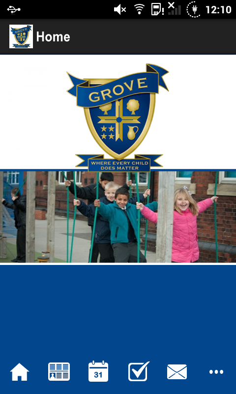 Grove Junior School- screenshot