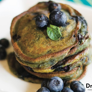 Pumpkin Blueberry Pancakes
