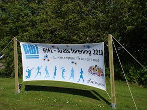 Photo: BMI - Årets forening 2010