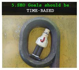 Mục tiêu SEO dựa trên thời gian