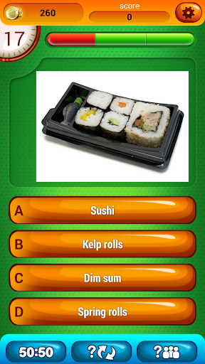無料益智Appの食品 楽しいです リビア 質問 クイズ 記事Game