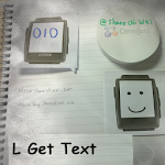 L Get Text Icon